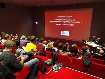 """Publication officielle du rapport """"Droits culturels : préconisations pour la Région Nouvelle-Aquitaine"""""""
