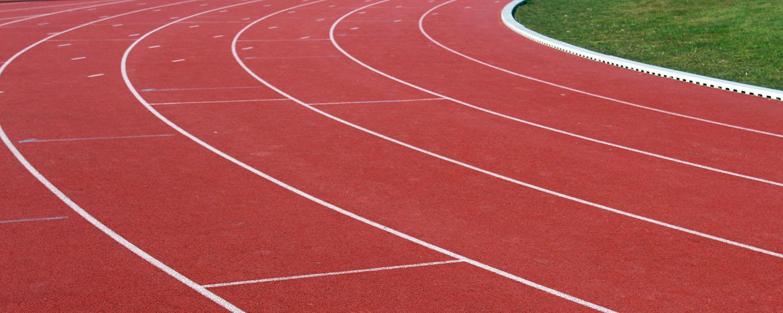 Piste d'athlétisme à Bergerac