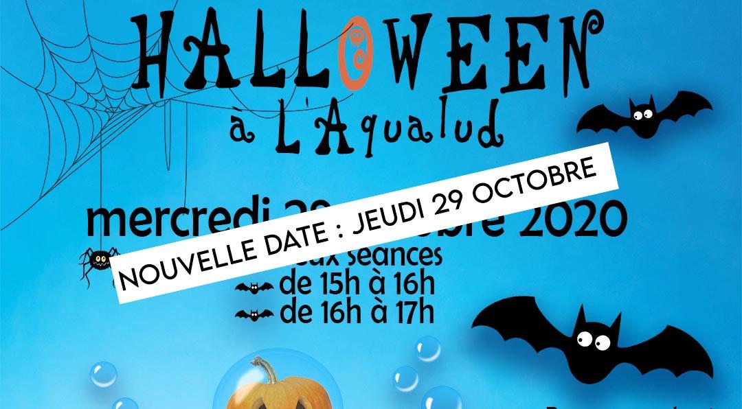 Jeudi 29 octobre 2020 : Halloween à l'Aqualud