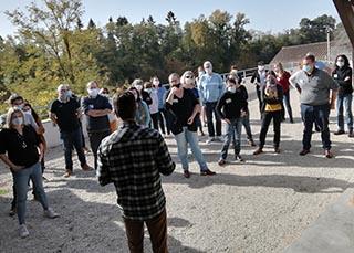 Journée de formation anti gaspillage, 21 octobre 2020, salle des fêtes de Creysse