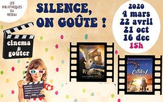 Médiathèque de Bergerac : Silence on goûte