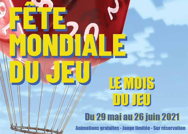 Ludothèque : Fête mondiale du Jeu