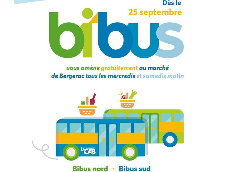 Bi'Bus, deux nouvelles lignes dédiées aux marchés de Bergerac les mercredis et samedis matin