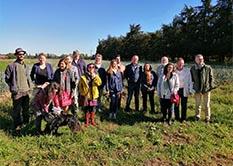 Programme d'Excellence Alimentaire : réception d'une délégation de la CALI (communauté d'agglomération de Libourne)
